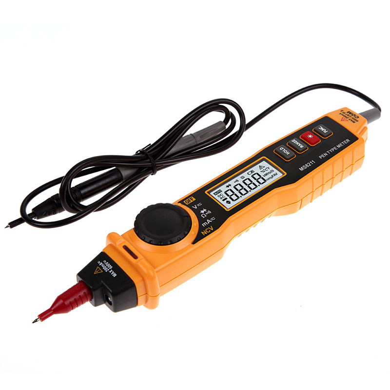 Pen Type Digital Multimeter Non-contact DC/AC Voltage Current Voltage  Tester With NCV Detector кабели межблочные аудио tchernov cable classic mk ii ic rca 1 65m