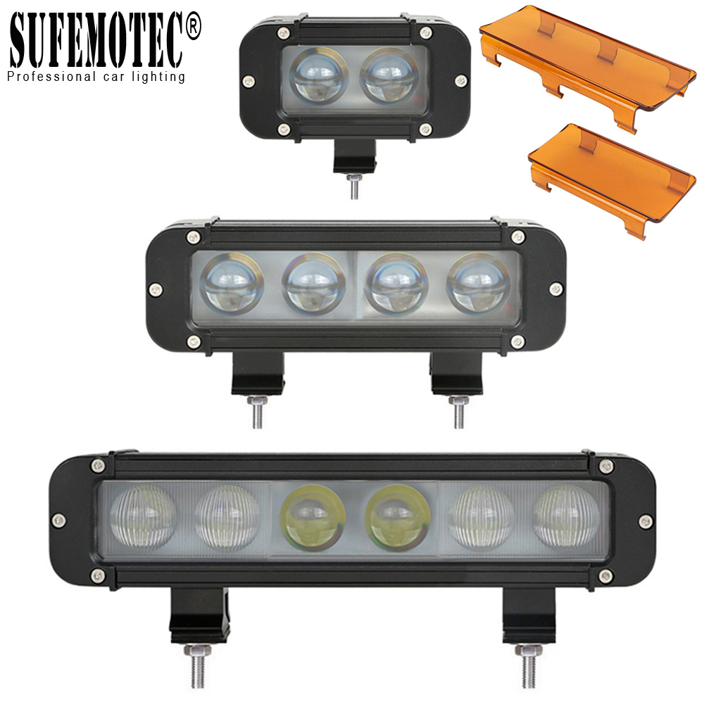 5 20W 8 40W 60W 11 Inch Single Row Led Light For 4x4 Off road ATV