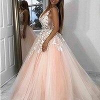 Индивидуальный заказ вечерние платья abendkleider 2019 торжественное платье длинные платья для вечеринки вечерние платья с аппликациями Тюль abiye в