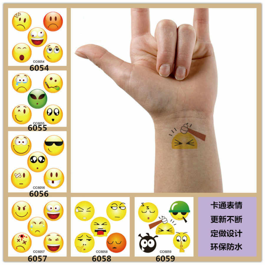 2019 NEW Classic Black Tatoo Cat Bird Fake Tattoo Tatuajes Hand Tatouage Body Waterproof Temporary Tattoos Sticker Small Taty