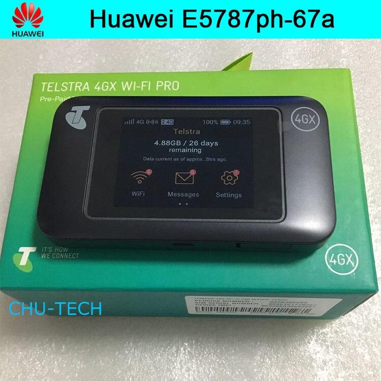 Débloqué Huawei E5787 E5787Ph-67a LTE Cat6 Hotspot WiFi Mobile 3000 mAh batterie routeur mobile