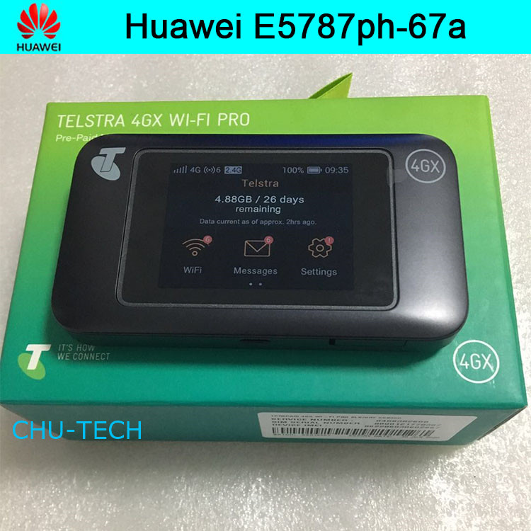 Débloqué Huawei E5787 E5787Ph-67a LTE Cat6 Hotspot WiFi Mobile 3000 mAh batterie routeur mobile
