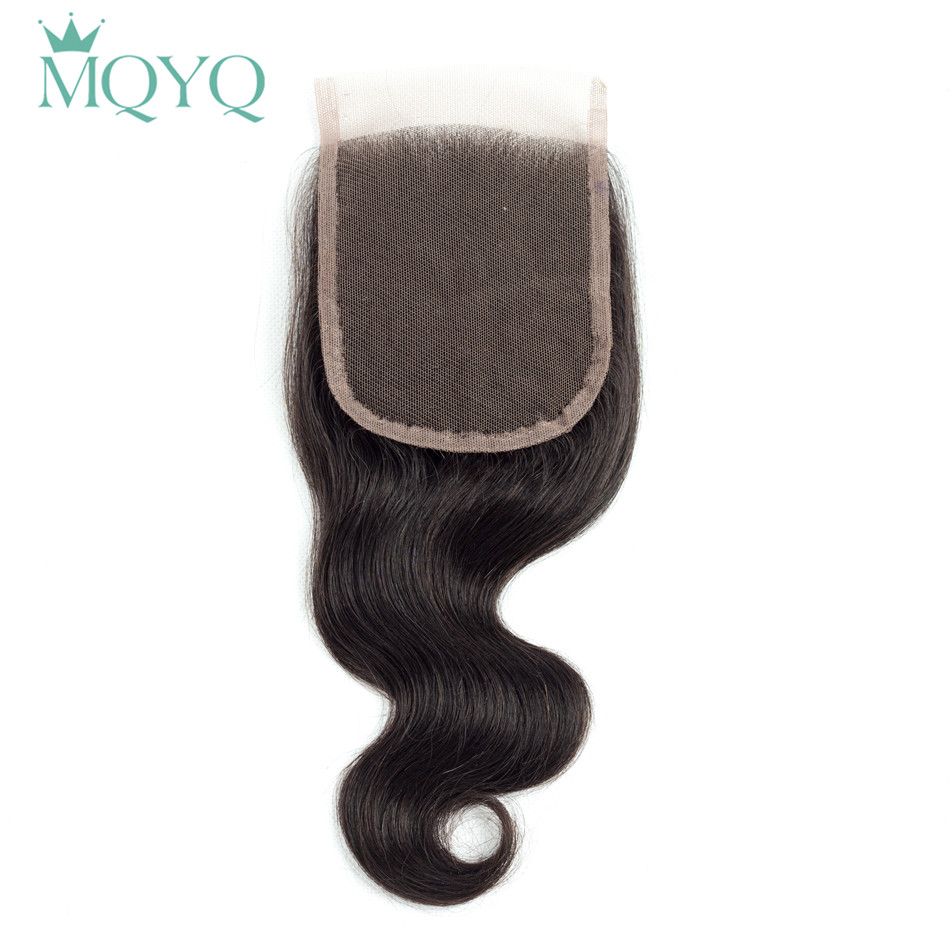 Pre-Colored Peruvian Remy Hair Body Wave With Closure 100% Human Hair Weave Wavy Natural Color 4 Bundles With Lace Closure