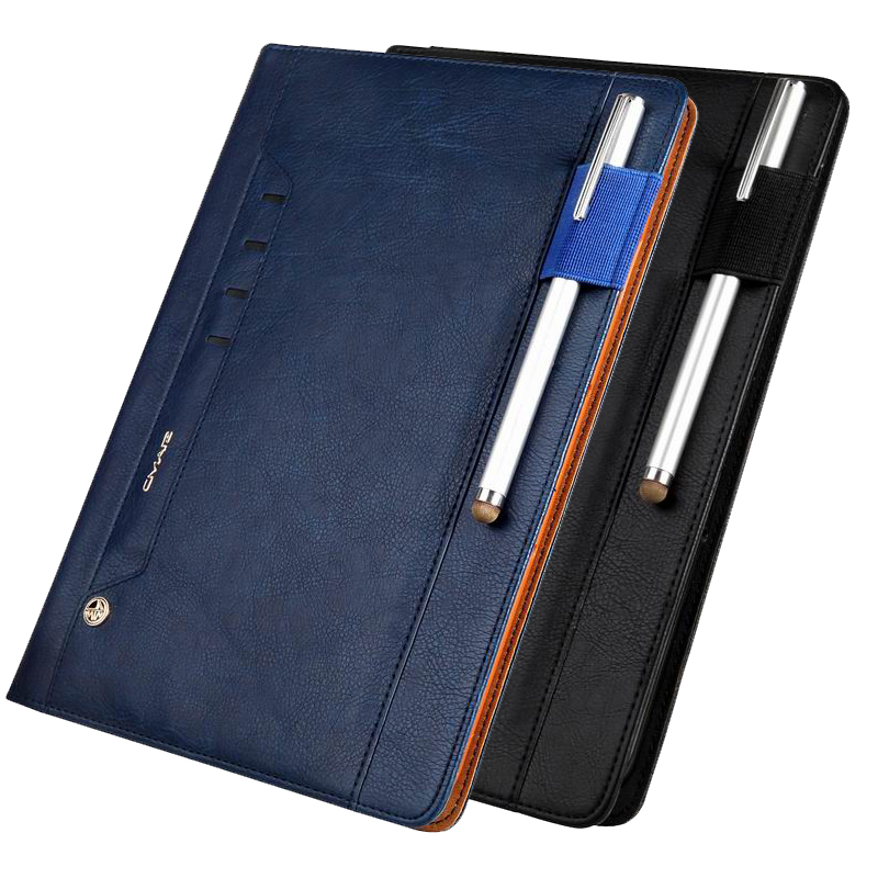 New Fashion PU Leather Smart Cover For Samsung Galaxy Tab S3 9.7 SM-T820 T825 Luxury Flip Folio Tablet Case With Pencil Slot