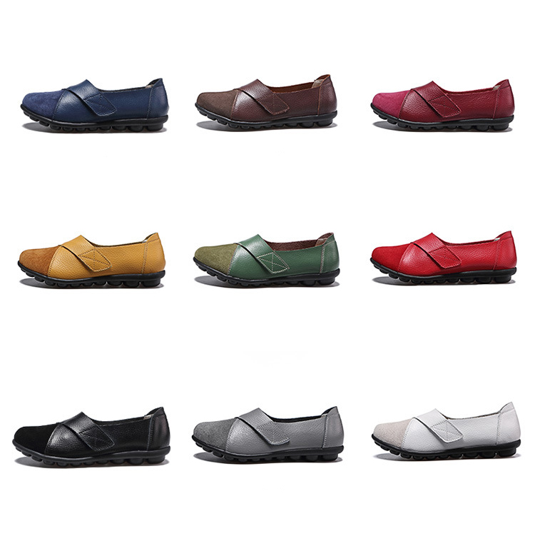 AH 1987-2019 Spring Autumn Women's Shoes Genuine Leather Woman Loafers-1