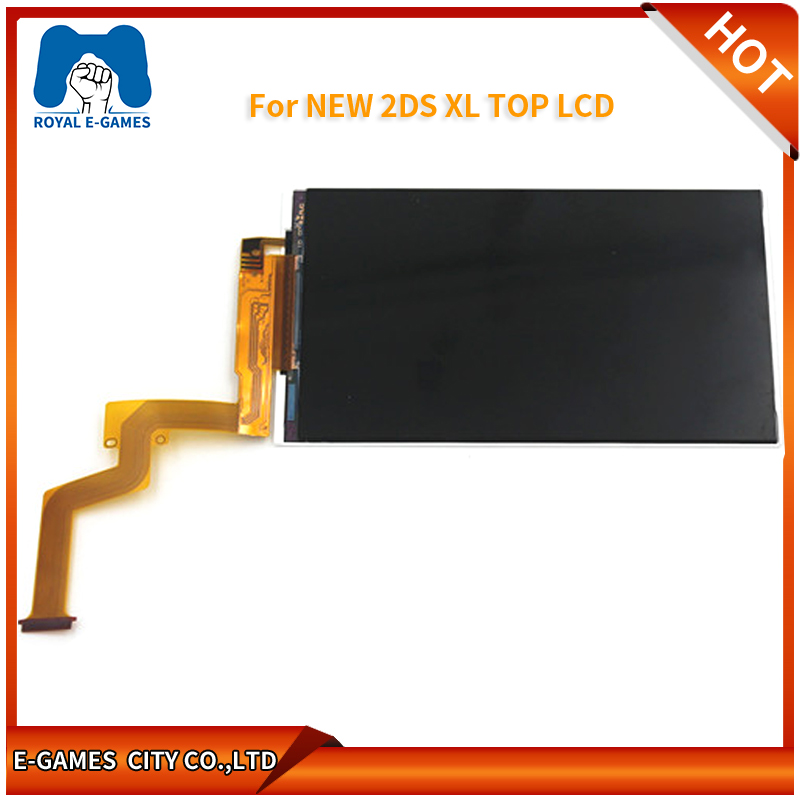 Original Top&down Lcd Screen For New 2DS XL Replacement Display For NEW 2DS XL/LL