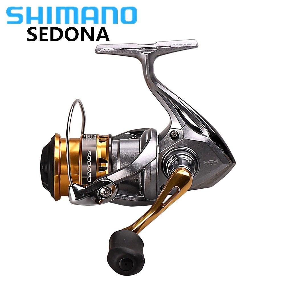 SHIMANO SEDONA 6000/8000 Spinning Angeln Reel 3 + 1BB Salzwasser Karpfen Angeln Reel HAGANE Getriebe Rad Pesca Carretilha Molinete