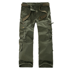 2019 cargo pants men tactical loose Camouflage Army military long Cotton trousers Man Pant Homme Combat Pants size 40