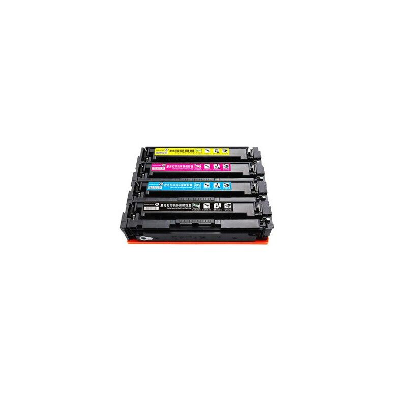 4pcs of one set For HP202A 202A CF500A CF501A CF502A CF503A color toner cartridge compatible for