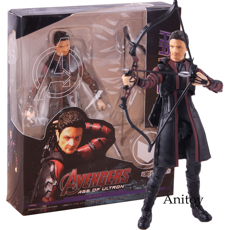 S.H.Figuarts SHF Avengers Age of Ultron Hawkeye Action Figure New in Box