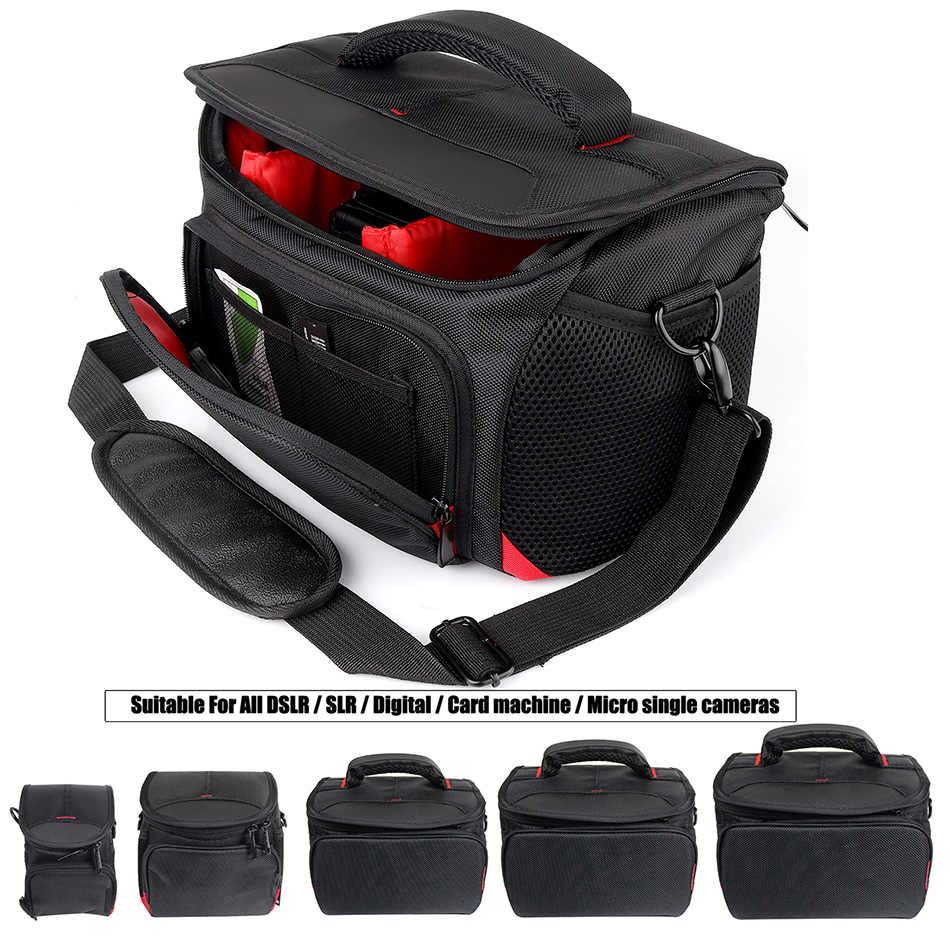 Waterproof DSLR/SLR Camera Bag For Nikon D7200 D5300 D3400 J5 P900 B500 B700 L840 P7800 Sony Canon Camera Nikon Photo Lens Bag