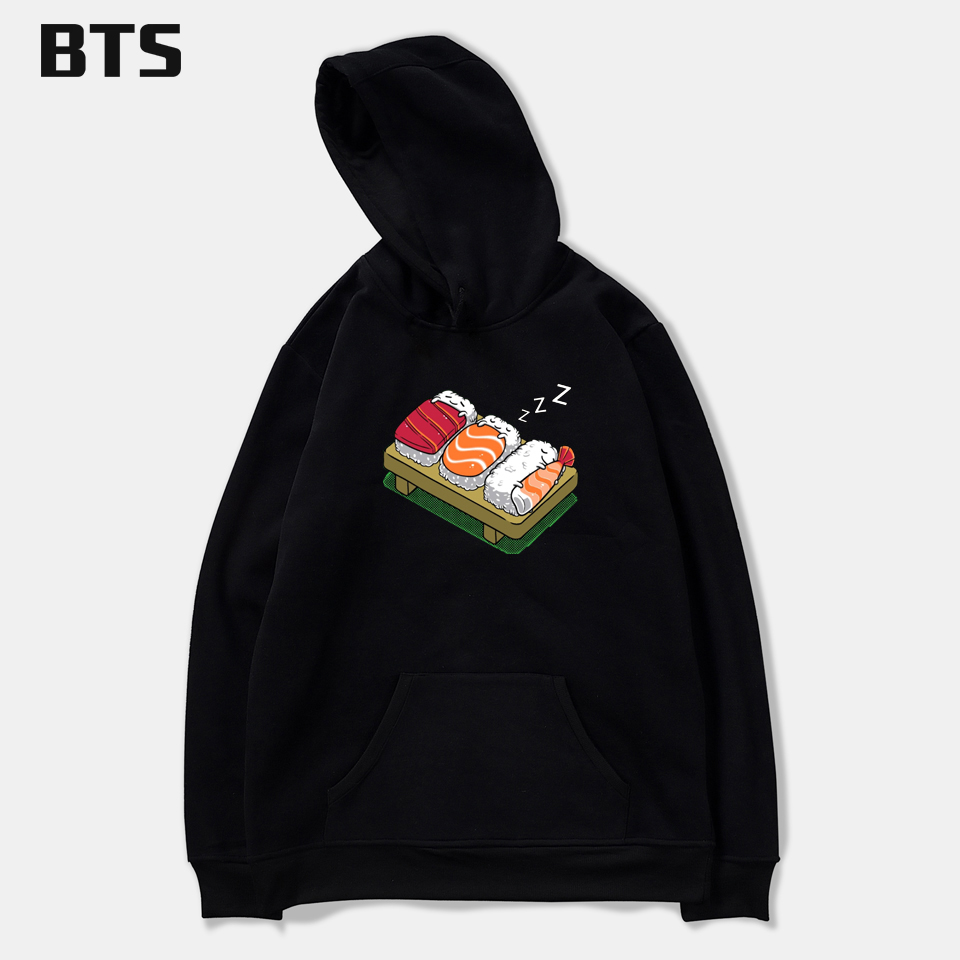 SMZY Food Family Cartoon hooded hoodies sweatshirt tops pullovers Winter Funny Cool sweatshirt men long sleeve Autumn Clother
