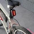 2018 горячий велосипедный велосипед 2 лазерный луч + 4 СВЕТОДИОДНЫХ заднего света 3 режима задний фонарь безопасные Аксессуары для велосипеда