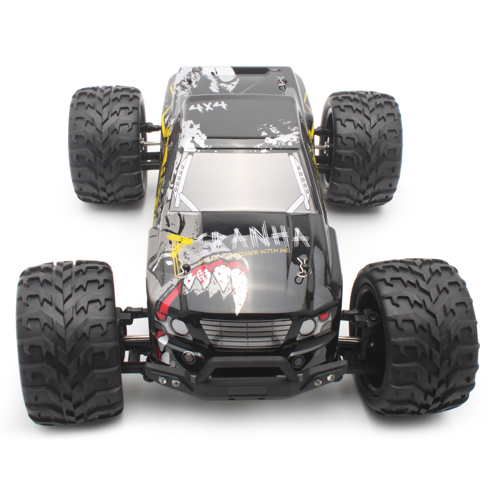 PXtoys 9200 1:12 Off-Road RC Racing Car 40km/H High Speed 2.4GHz 4WD Remote Control System Brushed Motor Wear-Resistant TPR Tire