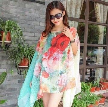 TDFunlive նոր ամառային շիֆոնով տպված - Սպորտային հագուստ և աքսեսուարներ - Լուսանկար 6