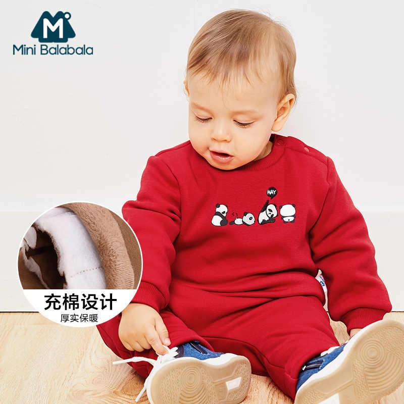 Рождественская Одежда для новорожденных коллекция 2018 года, зимняя одежда для маленьких мальчиков, комплект одежды детские костюмы для маленьких девочек, комплект одежды для младенцев возрастом 3, 6, 9, 12 месяцев