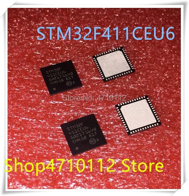 NEW 10PCS LOT STM32F411CEU6 STM32F411CE STM32F 411CEU6 QFN 48 IC