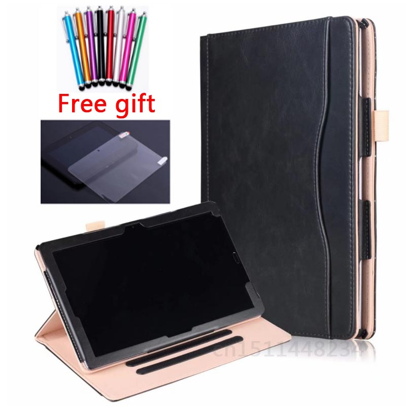 M5 10.8 Luxury Magnetic Stand Folio Cover Case Card Hand Strap For Huawei MediaPad M5 10 Pro CMR-AL09 CMR-W09 Tablet smart case