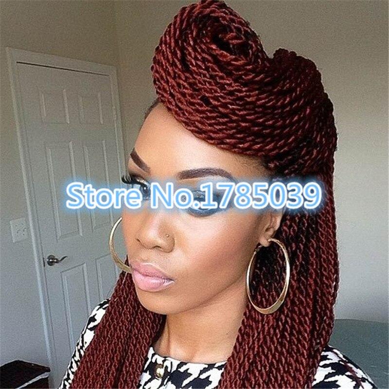 Micro Senegalese Twist Freetress Bulk Crochet Braiding Hair Extension Braid On Aliexpress Alibaba Group