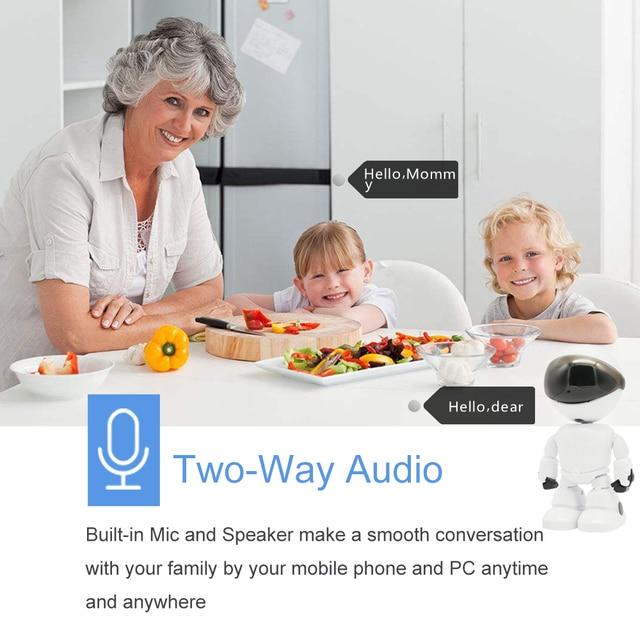 Robot WIFI Wireless IP Camera 4