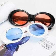 7ddddd758a1 Long Keeper LongKeeper Goggles Kurt Cobain Oval Sunglasses Ladies Trendy 2018  Vintage