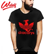 New Sale Dracarys GOT Dragon Fire T Shirt Popular Game Of Thrones Novelty Design Tee For Male Casual la Camiseta