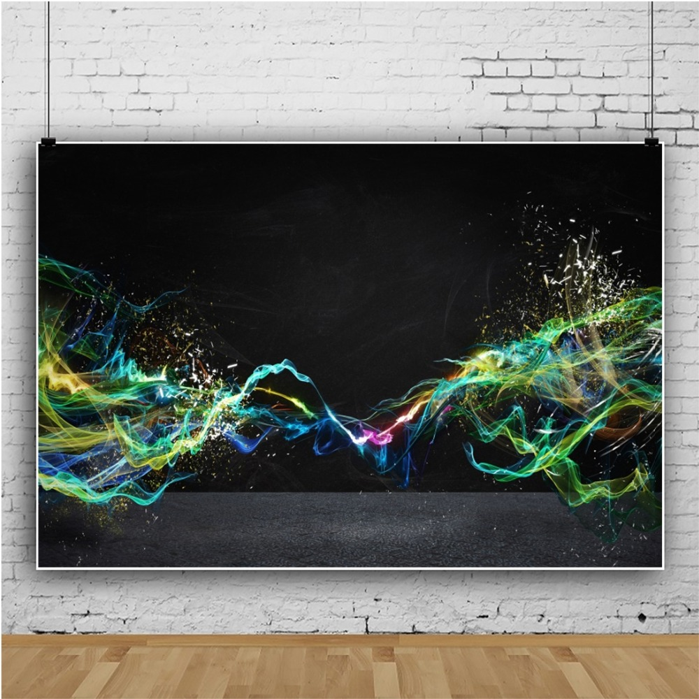 Photo Backdrop Fantasy Fire Flame Light Beam Unique 3D Party Decor Pattern Baby Photography Backgrounds Photocall Photo Studio in Background from Consumer Electronics
