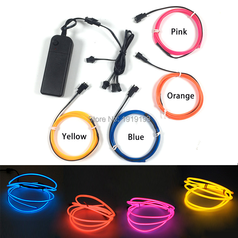 Purposeful New Arrival Neon Television Lights 2.3mm Shiny 4piece 1m Led Strip Light Up Creative Diy Toys Craft Design Outdoor Garden Decor Fragrant Aroma Lights & Lighting