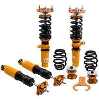 Coilover amortecedor kit para bmw série 3 e46 328 320 m3 323ci 328i 328ci suspensão mola bobina amortecedor ajustável Amortecedores e suportes     -