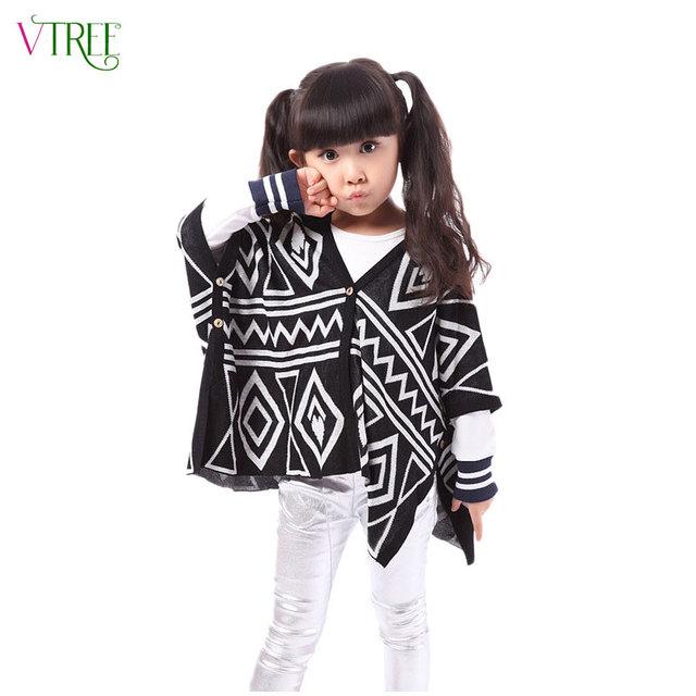 V-TREE niños Del Resorte prendas de vestir exteriores madre y hija de la madre de los niños chaquetas y abrigos de punto a juego de ropa de la rebeca para las niñas