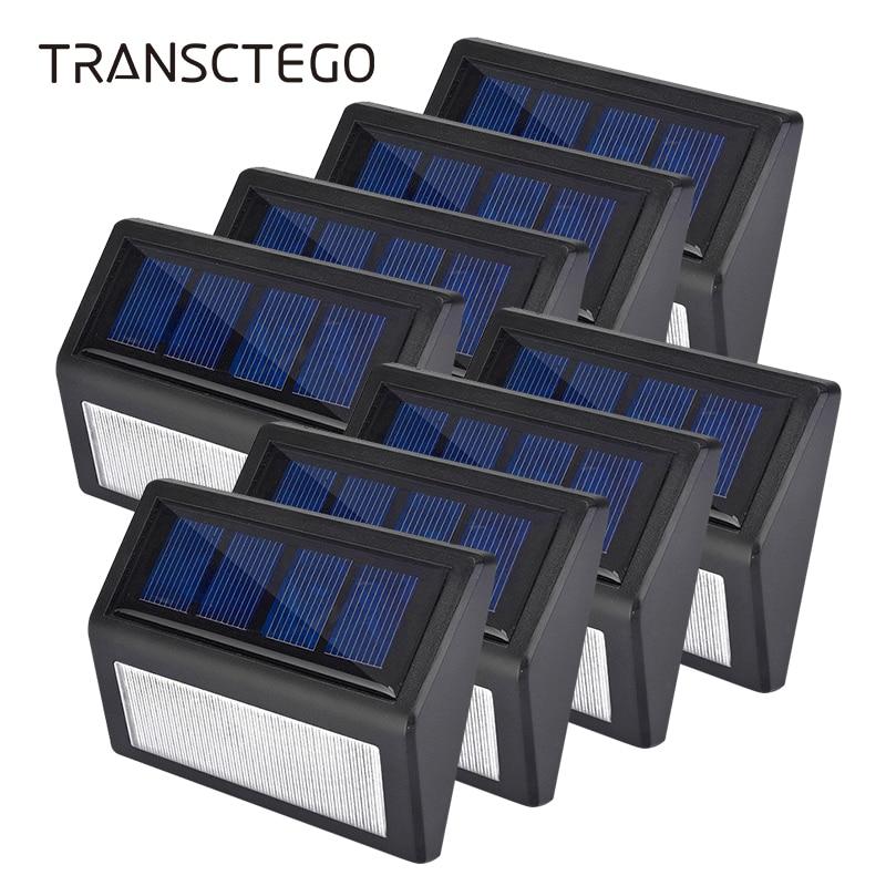 1-10 pz LED Luci Solari Luci del Giardino Lampada Da Parete Per Esterni Luce Scale Passo Senza Fili Del Sensore di Recinzione Impermeabile Lanterna Pathway lampada solare1-10 pz LED Luci Solari Luci del Giardino Lampada Da Parete Per Esterni Luce Scale Passo Senza Fili Del Sensore di Recinzione Impermeabile Lanterna Pathway lampada solare