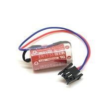 New Original MAXELL ER17/33 3.6V 1600mAh PLC industrial control Lithium Battery Batteries with Black Plug (ER17/33) стоимость