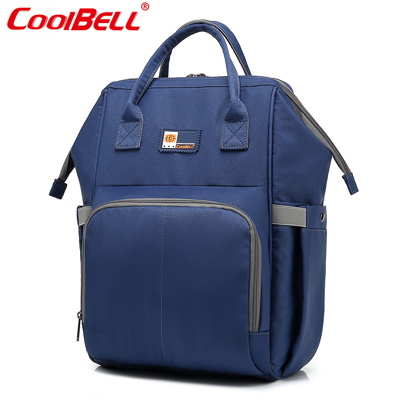 CoolBELL 2018 New Arrival Diaper Bag Backpack Multifunctional Nylon Water-resistant Baby Nappy Bag Travel Baby Care Mammy Bags цена 2017