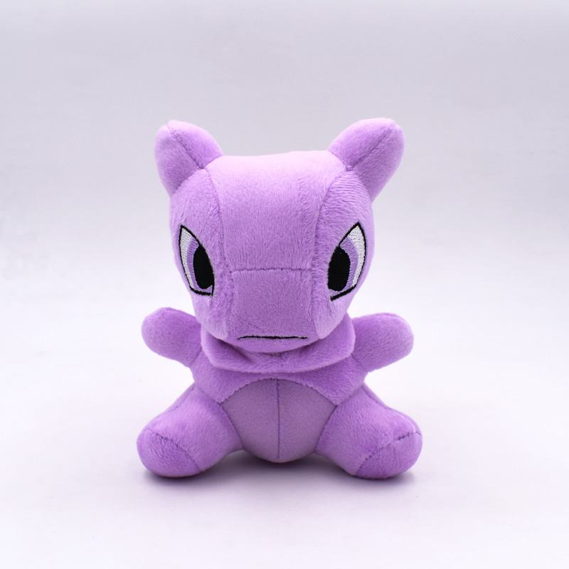2017 Free Shipping Retail 1pcs 14cm Monster Mewtwo Mewtu Plush Doll Stuffed Animal Plush Toy Doll