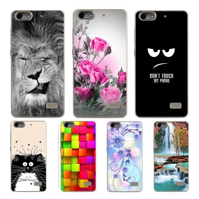 KAKASHI Huawei G Play mini Soft Silicone Cover Case For Huawei Honor 4C 4 C CHM-U01 CHC-U01 Fashion Protective Phone Cases