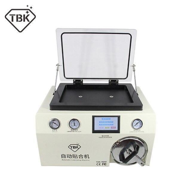 TBK-408A 15 Pollici Vacuum Pump LCD OCA Macchina di Laminazione Debubbler In Una Macchina Per Il Telefono Astuto Dello Schermo di Tocco Ristrutturare
