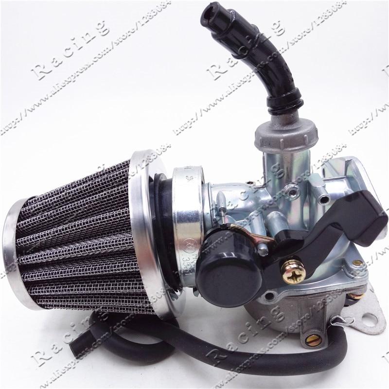PZ22 22 мм мотоцикл карбюратор ручной кабель дроссель с 35 мм воздушный фильтр 50cc 70cc 90cc 110cc 125cc ATV велосипед грязи Go Kart Carb