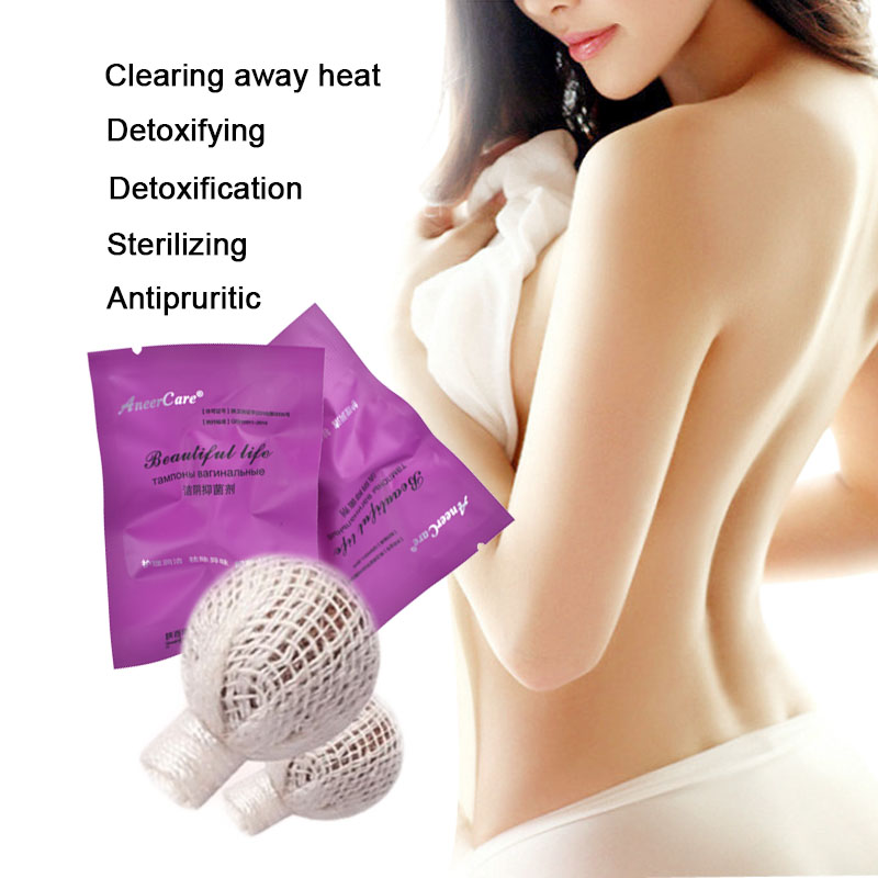 50pcs medicinal vaginal tampons chinese medicine swab discharge toxins feminine hygiene gynaecology pad tampons beautiful life 1
