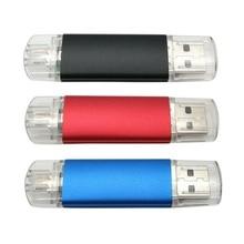 Netac TB Swivel 32GB OTG USB Flash Drive Pen Memory U Disk Stick Key Thumb Storage USB2.0 FLASH DRIVE Support Expand to 1/ 2TB