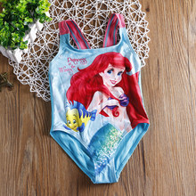 ef4707e1caa0 New 2018 Girls One Piece Summer Beach Wear Cartoon Design Swimsuit For  Baby&Girls Swimwear Children Swimsuit