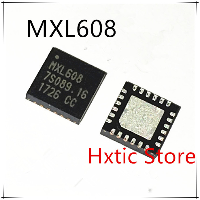 NEW 10PCS/LOT MXL608 MXL608-AG-T QFN-24 IC