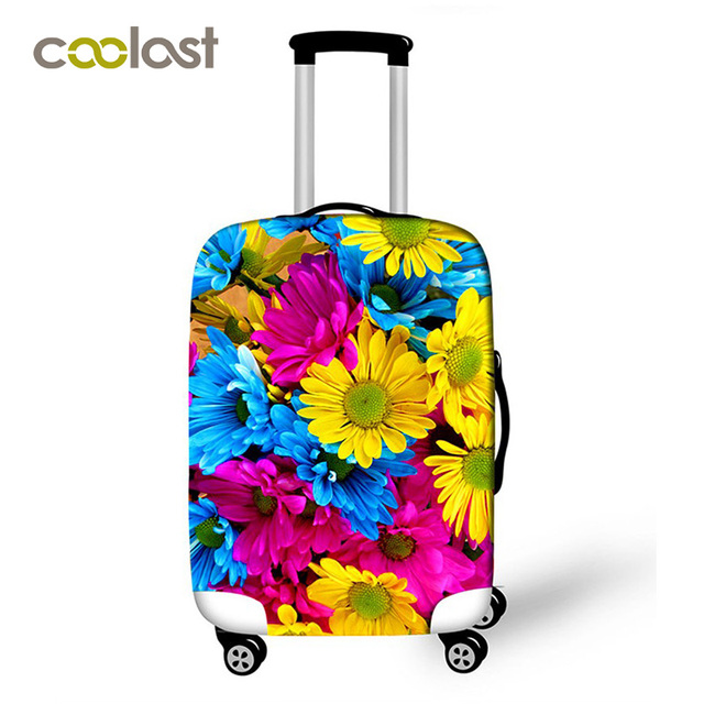 Flower Luggage Protective Covers for 18