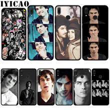 Iyicao Vampire Diaries Ian Somerhalder Soft Case untuk Huawei P20 Pro P10 P8 P9 Lite Mini 2017 P Smart 2019 cover(China)