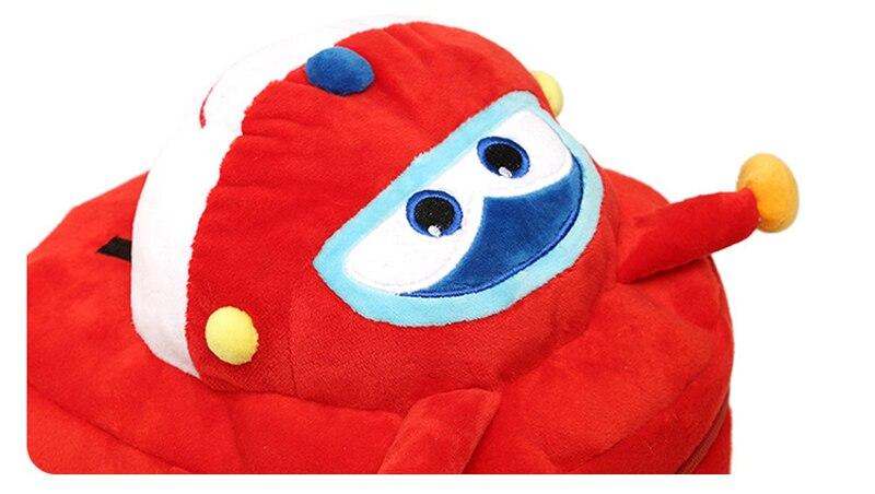 Fondlecare-Kids-Cartoon-School-Bag-3D-Super-Wings-Jett-Plush-Backpack-For-Kindergarten-Girl-Boys-Schoolbag-Childrens-Gift-LF795-4