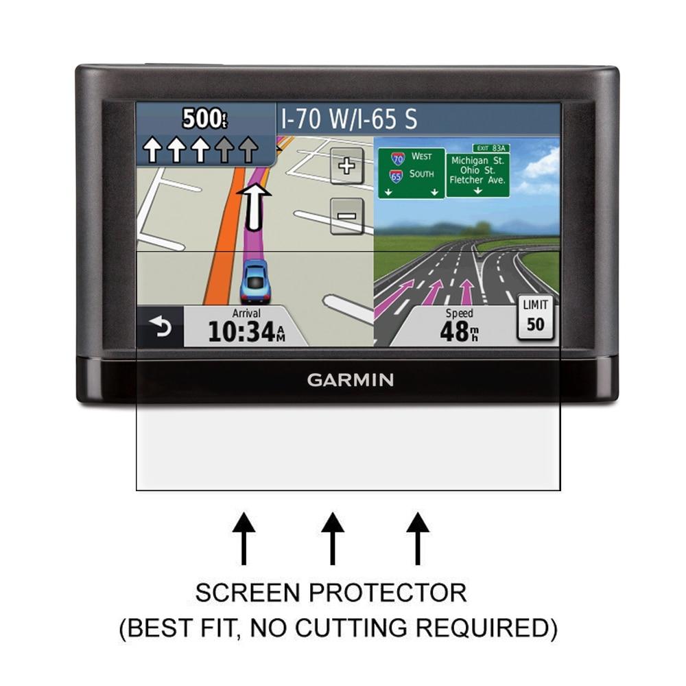 3x Anti Gores Clear LCD Screen Protector Perisai Film untuk Garmin - Aksesori dan suku cadang ponsel - Foto 2