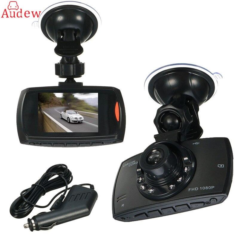 imágenes para 2.3 ''Cámara Del Coche DVR G30 720 P 100 Grados Dash cam Video Registradores Grabador De Coches Visión Nocturna Dash Cam G-sensor