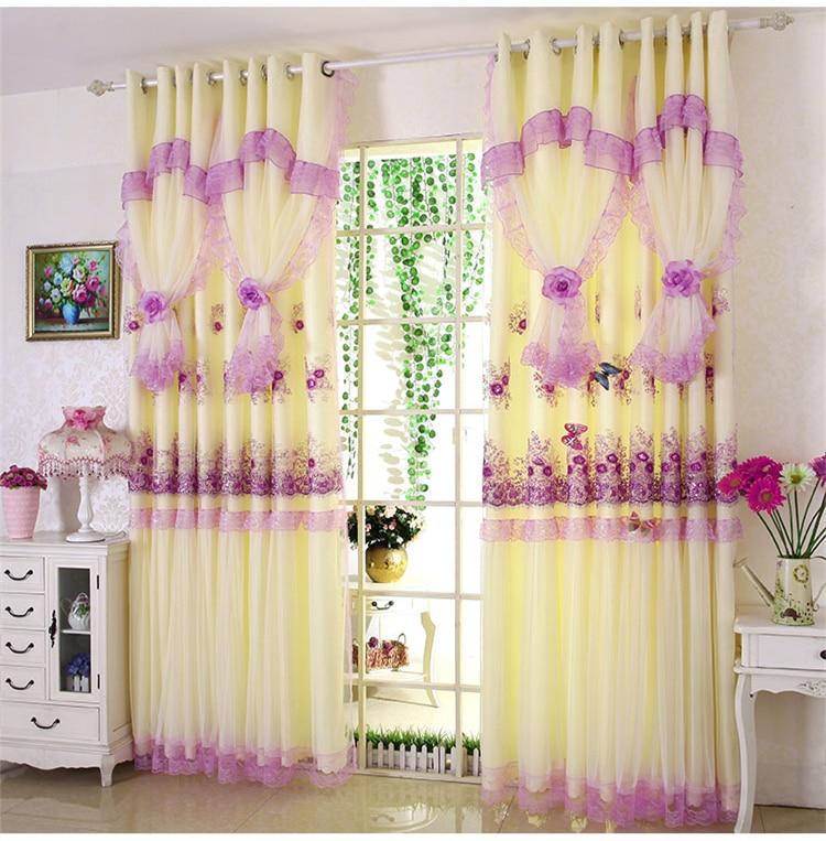 coreana de princesa, quarto, de tule, roxa, para casamento, sala de estar