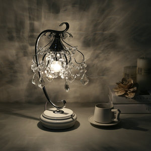 Image 3 - Artpad lüks kristal masa lambaları yatak odası için Modern düğün dekorasyon LED dim masa lambası başucu oturma odası aydınlatma