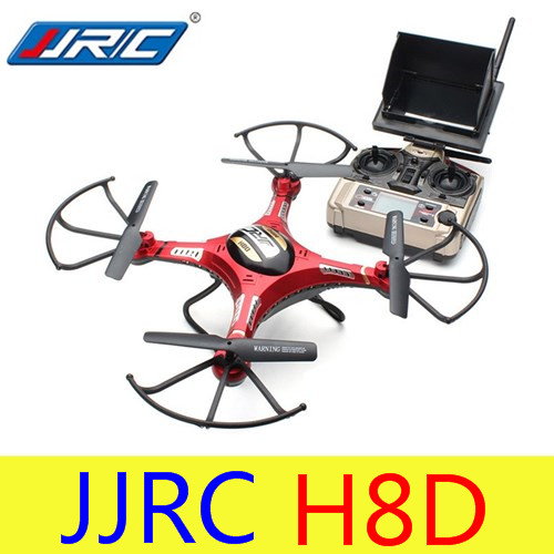 Professional Multi-functional RC Quadcopter JJR/C H8D 2.4GHz 4CH Headless Mode 5.8G FPV RC Quadcopter Drone with 2MP Camera RTF jjr c jjrc h43wh h43 selfie elfie wifi fpv with hd camera altitude hold headless mode foldable arm rc quadcopter drone h37 mini