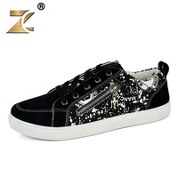 Superstar Metal Zipper GD Style Men Casual Shoes Fashion Top Quality Hip Hop Graffiti Deisgner New